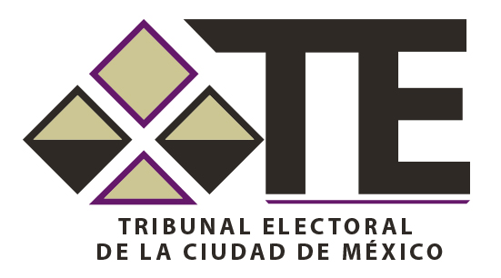 Logo administrativo del Tribunal Electoral de la Ciudad de México