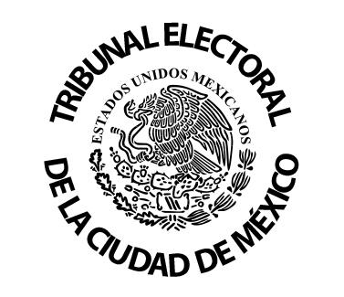 Logo oficial del Tribunal Electoral de la Ciudad de México