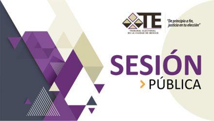 Aviso de Sesión del 23 de enero de 2020