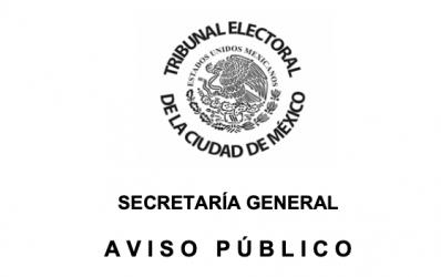 Aviso Público – Suspensión de actividades administrativas y jurisdiccionales