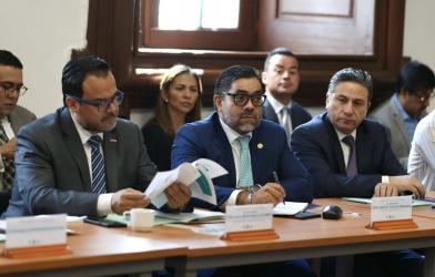 Primera Sesión del Comité Coordinador del Sistema Integral de Derechos Humanos de la Ciudad de México